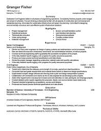 sample civil engineer resume civil engineer resume sample free