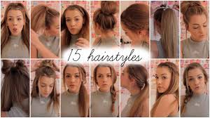 heatless hair styles 15 heatless hairstyles lilyellaburt youtube