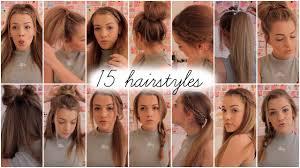 heatless hairstyles 15 heatless hairstyles lilyellaburt youtube