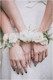 how to make a wrist corsage 18 fabulous corsages for the bridal party weddingsonline