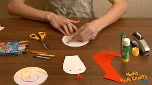 how to make a snake kids crafts youtube