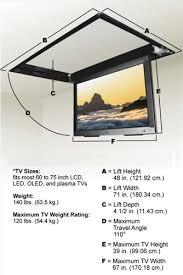 Drop Down Tv From Ceiling by Samsung Qn65q7famfxza Flip Down Ceiling Mount