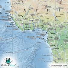 angola physical map physical map of world environment map of features