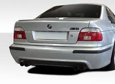 bmw e39 rear 1997 2003 bmw 5 series e39 duraflex m5 rear bumper 101802 ebay