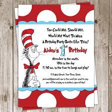 dr seuss birthday ideas dr seuss birthday invitations cloveranddot