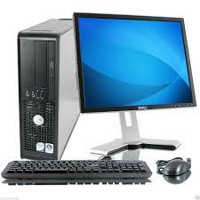 ordinateur complet de bureau pc complet dell 2 duo e7600 3 06 ghz 3 go 250 go dvd ecran 19