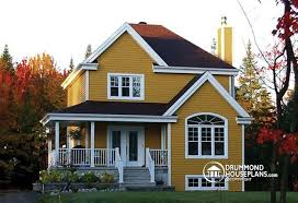 House Plans With Covered Porch House Plan W3820 Detail From Drummondhouseplans Com