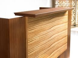 Maple Reception Desk by Central Park Reception Reception Darran Furniture