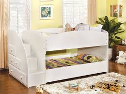 captivating twin bunk beds with stairs discovery world furniture