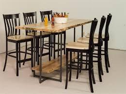 Dining Room Bar Table Best 25 Live Edge Bar Ideas On Pinterest Live Edge Wood