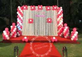 wedding backdrop hd simple stage decoration with balloons hd simple wedding stage