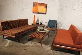 Mid Century Modern Sofa Bed Vintage Mid Century Sofa Jkimisyellow Me