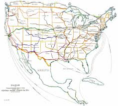 Westward Expansion Map How Did The Transcontinental Railroad Affect Western Expansion In