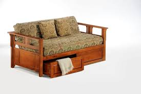 Sofa Bed With Storage Drawer Bedroom Outstanding Guest Daybed With Storage Drawers Night And