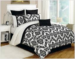 White Bed Set King Bedroom Black And White Comforter Sets Black And White Queen