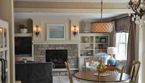 Cottage Style Family Room Addition Edina - Cottage style family room
