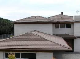 Flat Tile Roof Flat Roof Tile Clay Brown Asturias Tejas Borja