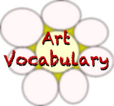 Interior Design Vocabulary List by Elementary Middle Art Vocabulary Words