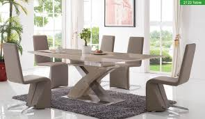 2122 5 piece dining room extending set buy online at best price