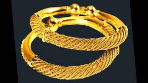 top 10 gold golusu bangle designs