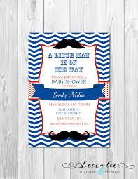 mustache invitations photo mustache themed baby shower image