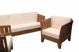 L Shaped Wooden Sofas Teak Wood Sofa Set Ws 60 Details Bic Furniture India