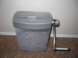 friendly green paper shredder