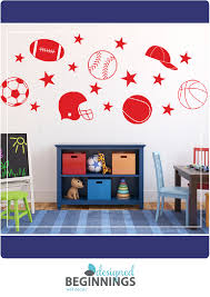 sports decals kids wall stickers for boys sports stickers sports decal wall stickers for your teen boys room