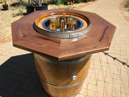 Wine Barrel Patio Table 109 Best Wine Barrel Ideas Images On Pinterest Barrels Wine