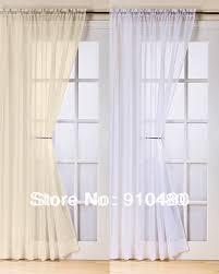 french door net curtains door decoration