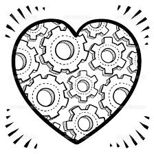 human heart coloring page 150 inspiring of a pages hearts and
