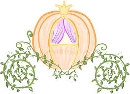 instant download cinderella u0027s pumpkin coach digital clip