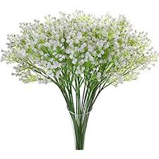 baby s breath flowers justoyou 5pcs artificial babys breath flower pu