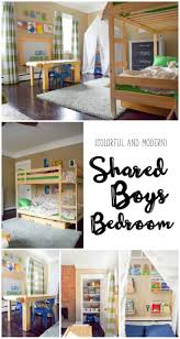 24 best shared kids room images on pinterest big girl rooms one room challenge week 6 a shared boys bedroom reveal plus an exciting announcement