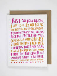 cards for the sick cancer survivor creates cards no bad jokes or saccharine