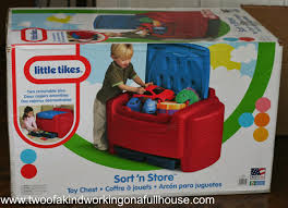 Little Tikes Play Table Little Tikes Sort U0027n Store Primary Colors Toy Chest Two Of A
