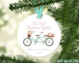 First Christmas Personalized Ornaments - beach chair first christmas personalized ornament