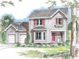 Small Two Story House Plan 050h 0051 Find Unique House Plans Home Plans And Floor