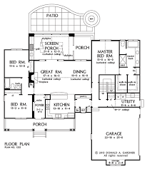 3 master bedroom floor plans home plan the coleraine by donald a gardner architects