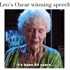 Leonardo Dicaprio Meme Oscar - leonardo dicaprio s oscar win has the internet exploding with