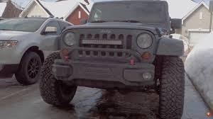 light bar jeep bumper light bar position advice please