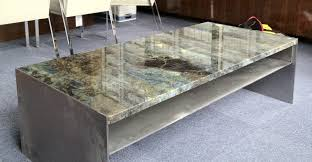 coffee table wonderful concrete and glass coffee table concrete
