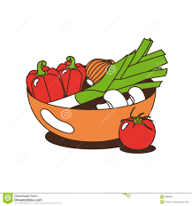 of vegetables clipart