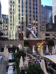 Rockefeller Center Summer Garden - it u0027s beginning to look a lot like ice cream rock center in the