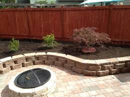 Rumblestone Fire Pit Insert by Pavestone Rumblestone 46 In X 10 5 In Round Concrete Fire Pit