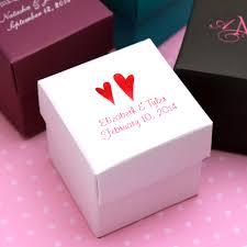 personalized boxes personalized colored square favor box 25 pcs favor boxes