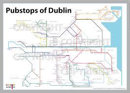 Dublin Ireland Map Dublin