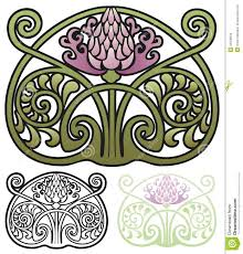 thistle ornament stock vector image 44648634