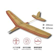 willowbiter balsa wood hand throw airplane model kits diy outdoor