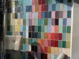 Paint Chips by Creating A Designer Paint Chip Wall U2026thinking Creatively With